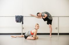 @Barre - a real food bar founders and MPG Messengers, Julia Erickson (Pittsburgh Ballet Theatre) and Aaron Ingley.