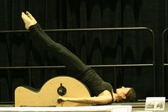 Roll Over on Low Barrel by Manon Laplante from Le Pilates Loft by Le Pilates Loft, via Flickr