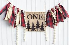 Lumberjack Birthday Party Banner Happy Little Camper Highchair Banner Onederland Buffalo Plaid Deer Camping Onederful - Beckett Baby Name - Ideas of Beckett Baby Name - Lumberjack Birthday Party Banner Happy by PrettyLittleClippie Lumberjack Birthday Party, Wild One Birthday Party, First Birthday Photos, Boy First Birthday, Boy Birthday Parties, Birthday Ideas, Farm Birthday, Happy Birthday, Cowboy Party
