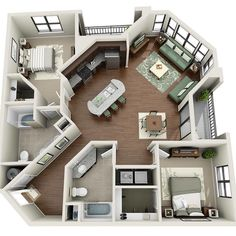 Your Guide to 4 bedroom apartments macon ga for your home haus Are You Making The 4 Bedroom Design Mistakes That Keep Decorators Up At Night? Layouts Casa, House Layouts, Sims 4 Houses Layout, House Layout Plans, Sims 3 Houses Ideas, Sims House Plans, House Floor Plans, Apartment Floor Plans, Small Apartment Plans
