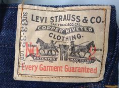Levis Jeans, Denim, Levi Strauss & Co, Vintage Levis, Patches, Label, Reusable Tote Bags, Mens Fashion, Logos