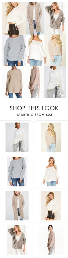 """Untitled #20269"" by florencia95 ❤ liked on Polyvore featuring First & I, Free People, Forever 21 and Silence + Noise"