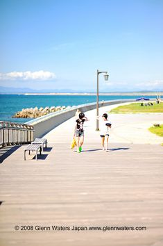 Summer in Japan. Over visits to this image. Aomori, Beach Boardwalk, Book Art, Japan, Water, Summer, Outdoor, Image, Beautiful
