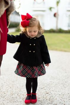 Something Delightful Blog - Mommy & Me Holiday Style