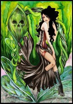 Absinthe addiction - Bellatrix by FerionFuriosa.deviantart.com on @deviantART