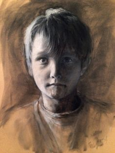 """Henry"" 42x60 cm / Pastell / 2013"
