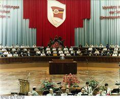 Berlin, Kampftreffen des MfS im Palast der Republik   6. Februar 1985