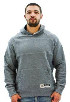 Ecko Unltd. Pieced Rugby Popover Men`s Hooded Sweatshirt - List price: $49.50 Price: $29.99 Saving: $19.51 (39%)