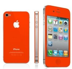 #iPhone4S Metallic Orange Kit changes your #iPhone look in minutes.