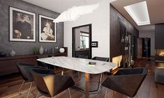 Projekt domu Artus 2 168,87 m2 - koszt budowy - EXTRADOM Modern Small House Design, Modern Barn House, Rustic Salon, Single Storey House Plans, Home Salon, Bungalow House Design, House Floor Plans, Architecture, Pergola