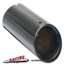30,39€ - ENVÍO SIEMPRE GRATUITO - Juego de Puntas de Escape 75mm Para Coche Original Audi A4 B8 Q5 1.8T 2.0T Color Negro - TUTIENDARACING