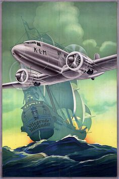 KLM. The Flying Dutchman. 1939