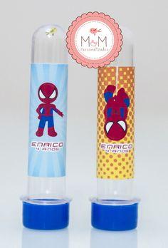 Tubete personalizado - Homem aranha