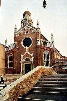 Madonna dell'Orto, Canareggio, Venice. Tintoretto's parish church.