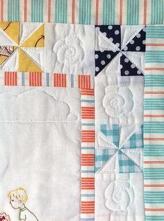 mini quilt for summer
