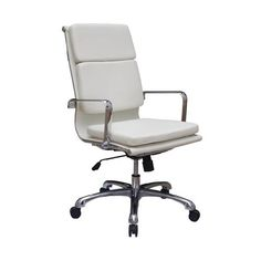 Destra High Back Office Chair White