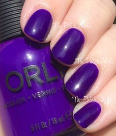 The PolishAholic: Orly Summer Baked Collection ~ Saturated