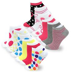 TeeHee Women's Fashion No Show Fun Socks 12 Pairs Packs (... https://www.amazon.com/dp/B0194MHNFE/ref=cm_sw_r_pi_dp_x_.7pizbHGGS4DR