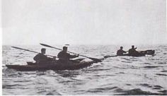 DEC 12 1942 Operation Frankton survivors reach their target - See more at: http://ww2today.com/12th-december-1942-operation-frankton-survivors-reach-their-target. The Royal Marines 'Special Boom Detachment' during training off Portsmouth. Ostensibly their job was to patrol the six mile harbour boom, in...