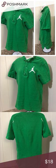 Jordan polo Like new Jordan Shirts