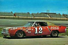 Few things in life are better than NASCAR racing and Coca-Cola. So why not merge the two together? That's exactly what happened in the early 1970s when the world's leading soft drink became emblazoned on the hood and sides of Bobby Allison's No. 12 (among a couple of other numbers).  Coca Cola was the primary sponsor on Allison's car from 1970 through 1975. During their run together, Allison scored 31 of his 85 career wins. He also posted two runner-up points finishes during that span.