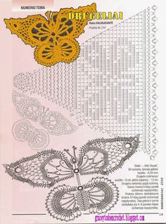 Butterflies to decorate your Christmas...Mariposas para adornar sus navidades!