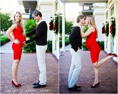 Love that they got so dressed up for the maternity shoot :) Maternity Photography Poses, Maternity Session, Maternity Pictures, Baby Pictures, Photography Ideas, First Pregnancy, Pregnancy Outfits, Pregnancy Photos, Pregnancy Christmas Card