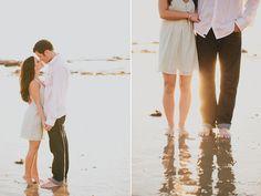 beach engagement photo ideas - Google Search