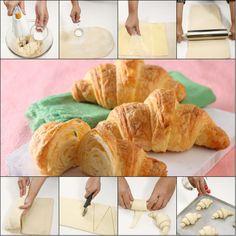 CROISSANT  http://www.sajiansedap.com/recipe/detail/18959/croissant#.VHWZ9_mSxRE
