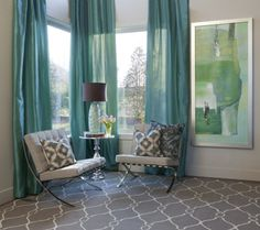 Turquoise Neutral Nook - Cheery.