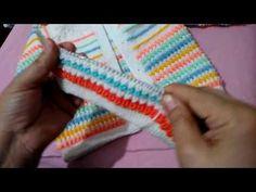 Kolay Şişte Yapılan Bebek Yeleği (Hırka) Modeli #11 - Bebek Yelekleri - Sıralı Örgü Modeli - YouTube