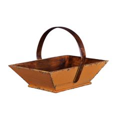 This wooden vessel is perfect for holding fruit in a kitchen or magazines in a living area. | $51