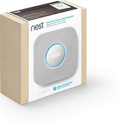 The new nest fire alarm. Looks kind of badass to me.