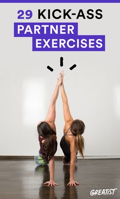 Studies show working out with a partner has more benefits than hitting the…