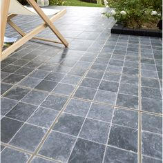 Amazing Beautiful Carrelage Extrieur Castello En Grs Crame Maill Noir Xcm Leroy  With Pave Leroy Merlin With Carrelage Exterieur Imitation Pav