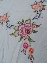 Image result for hand embroidered linen