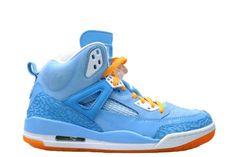 Air Jordan Spiz'ike (Italy Blue) Retro Basketball Shoes