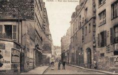 La rue des Gobelins vers 1900  (Paris 13ème)