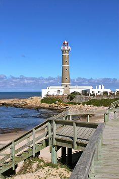 Faro or Lighthouse at Punta Jose Ignacio, departamento de Maldonado - Uruguay