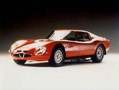 Alfa Romeo Giulia TZ2 Zagato, 1965.