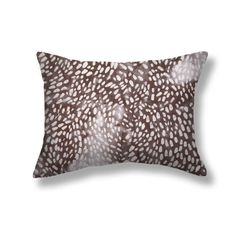 Speckled Pillows in Smoke – Rebecca Atwood Designs Pillow Fabric, Bed Pillows, Ink Wash, Down Feather, Printed Linen, Pattern Mixing, Smoke, Final Sale, Pennsylvania
