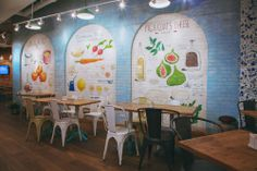 #restaurant #interior #bar #yummy #love #fast #food #beauty #wall #painting