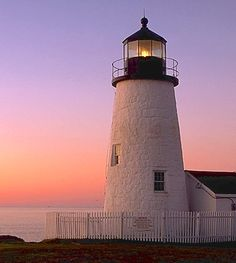 Pemaquid Point Lighthouse, Bristol, Maine ~ built in 1827 during the presidency of John Quincy Adams