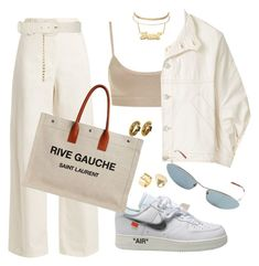 Untitled #531 by youraveragestyle on Polyvore featuring polyvore, fashion, style, Henrik Vibskov, The Row, Yves Saint Laurent, Charlotte Russe, Chanel, Cartier, Maison Margiela, Gucci, Ryan Roche and clothing
