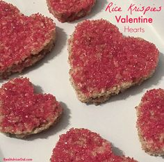 Show your love for Valentine's Day by making these yummy Rice Krispie Hearts Valentine treats recipe.