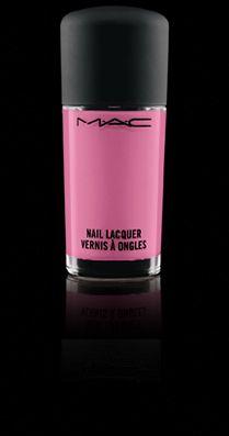 MAC nail polish in Ice Cream Cake.
