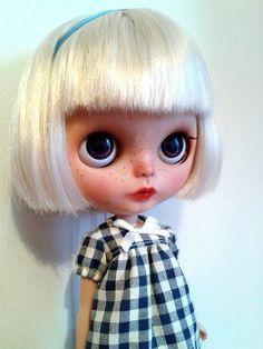 OOAK Custom Art Blythe Doll by CherrydollEmporium on Etsy