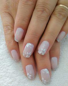 nails Fall Nail Art Designs, Colorful Nail Designs, Nail Polish Designs, Nail Art Hacks, Gel Nail Art, Gel Nails, Subtle Nails, Cute Toe Nails, Bridal Nail Art
