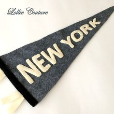 Pennant Felt Embroidered Pennant Wall by ModernStyleHoliday