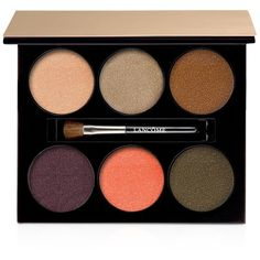Lancome 6-Pan Color Design Eye Shadow Palette, Summer Bliss Collection ($50) ❤ liked on Polyvore featuring beauty products, makeup, eye makeup, eyeshadow, beauty, cosmetics, belleza, filler, no color and palette eyeshadow